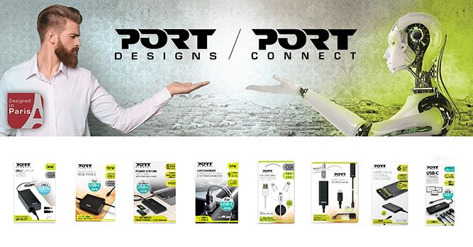 Port designs zasilacze i stacje dokujące do laptopów